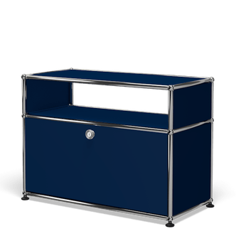 Usm haller side table o118 blue haute living 191001 184734
