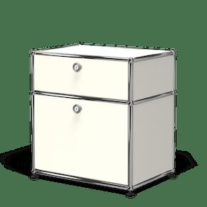 Usm haller nightstand p1 white haute living