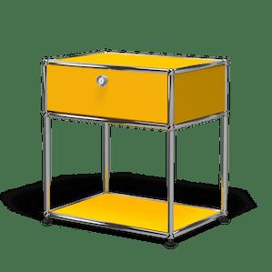 Usm haller nightstand p2 yellow angle haute living