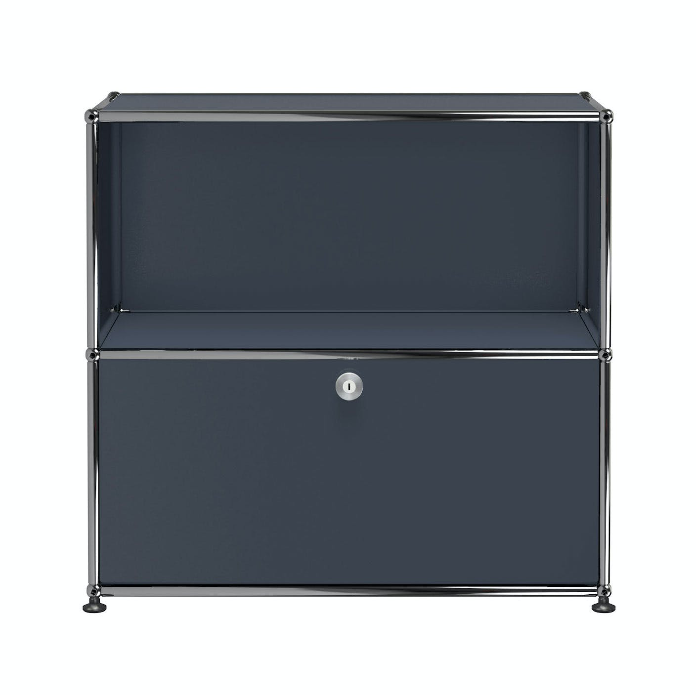 Usm-quick-ship-Haller-Storage-C1B-anthracite-grey-haute-living