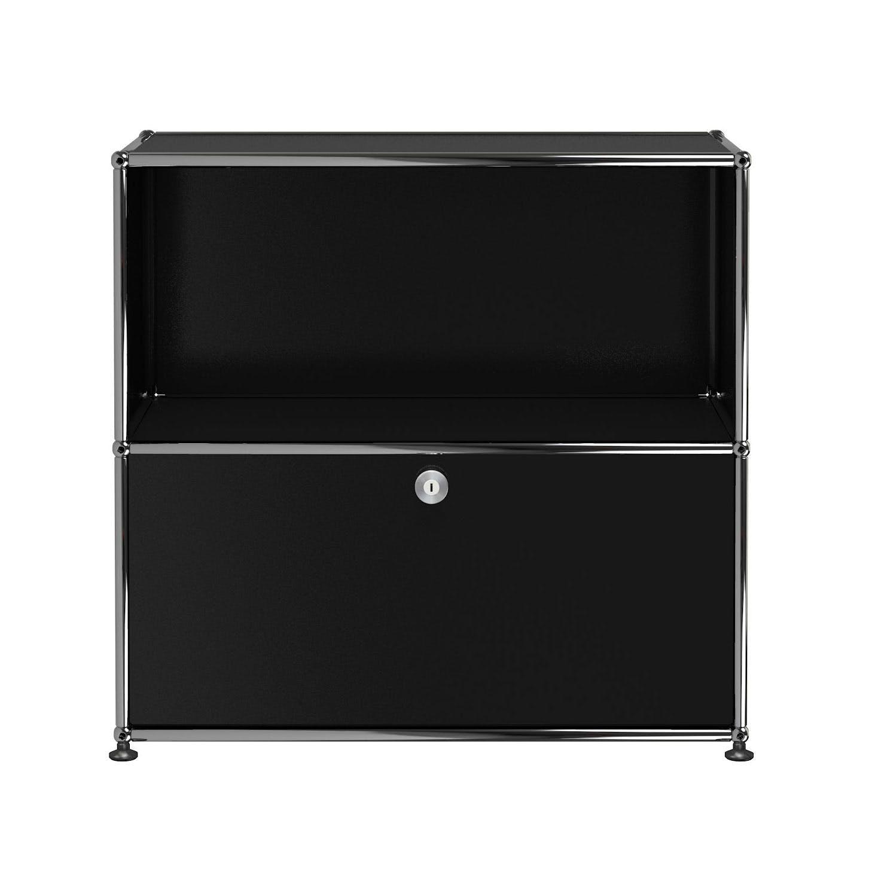 Usm-quick-ship-Haller-Storage-C1B-graphite-black-haute-living