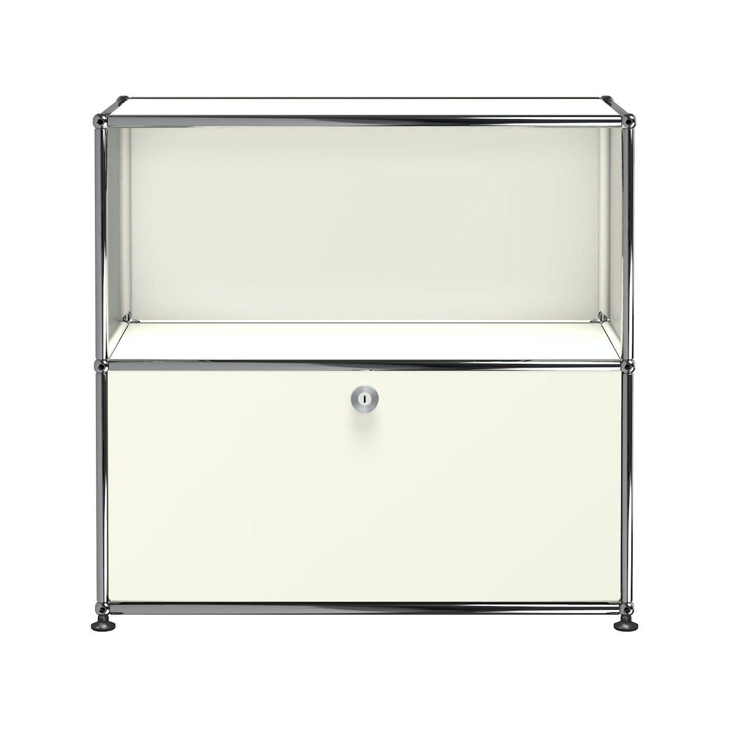 Usm-quick-ship-Haller-Storage-C1B-white-haute-living