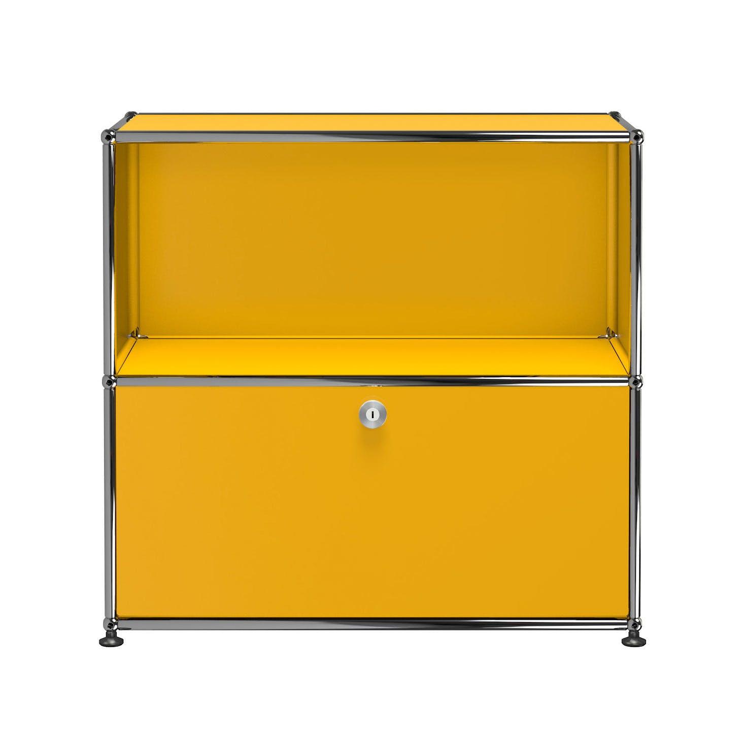 Usm-quick-ship-Haller-Storage-C1B-yellow-haute-living
