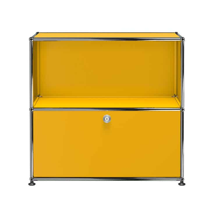Usm-quick-ship-Haller-Storage-C1B-yellow-haute-living