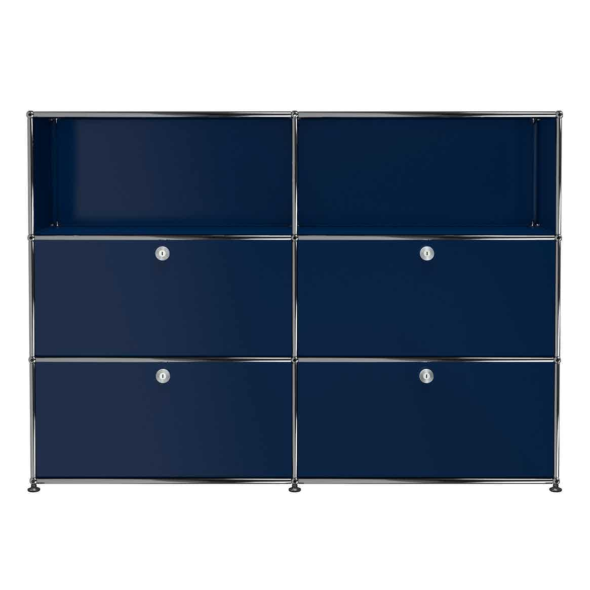 Usm-quick-shop-Haller-Storage-G2A-steel-blue-haute-living