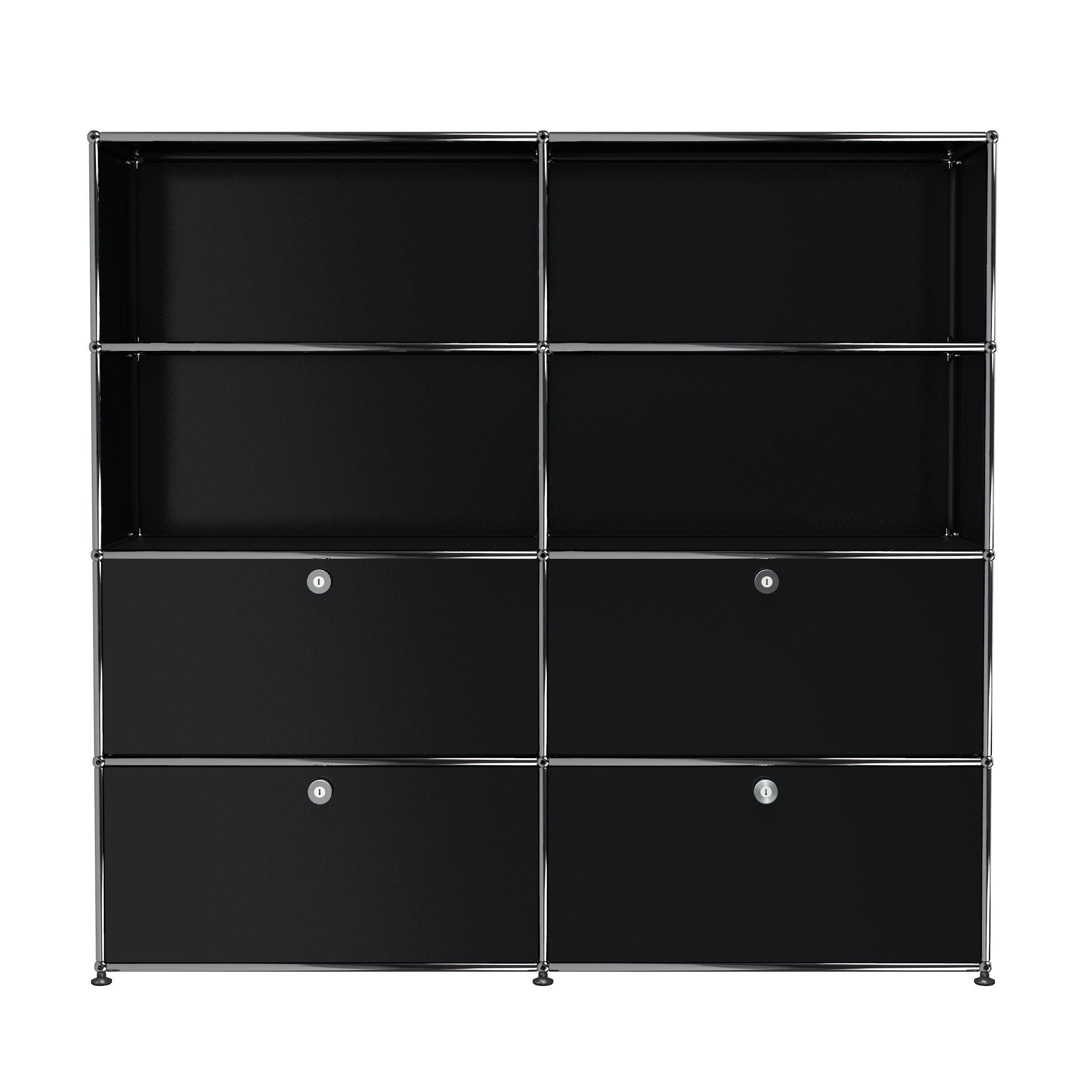 Usm-quick-ship-Haller-Storage-S2-black-haute-living