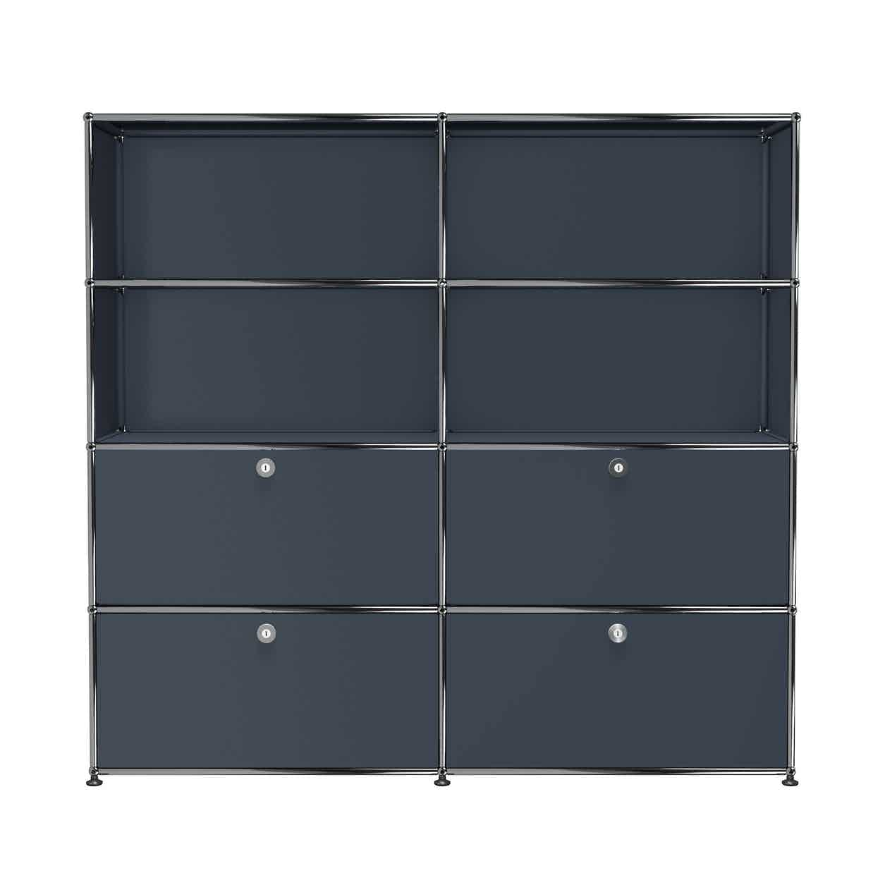 Usm-quick-ship-Haller-Storage-S2-grey-haute-living