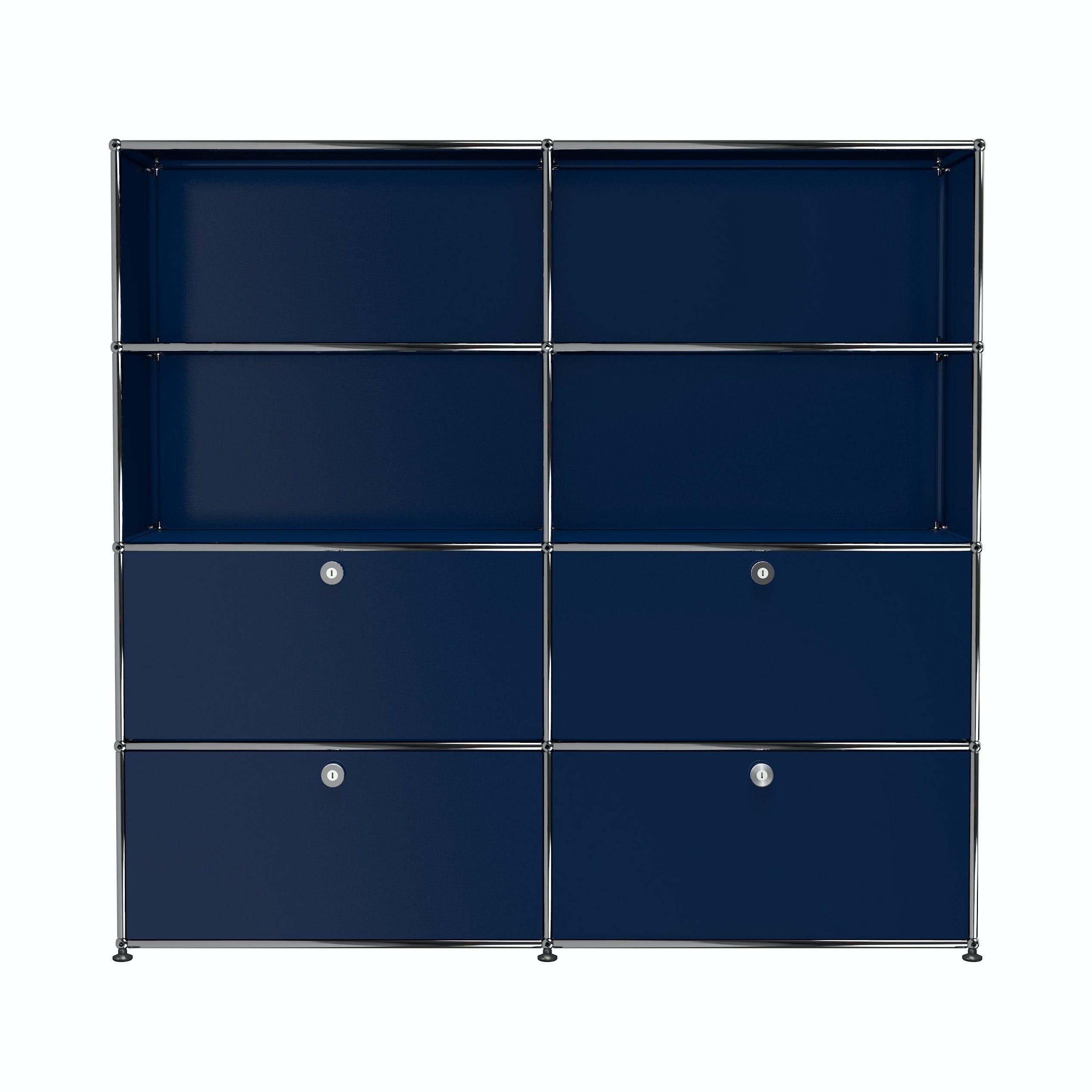 Usm-quick-ship-Haller-Storage-S2-steel-blue-haute-living