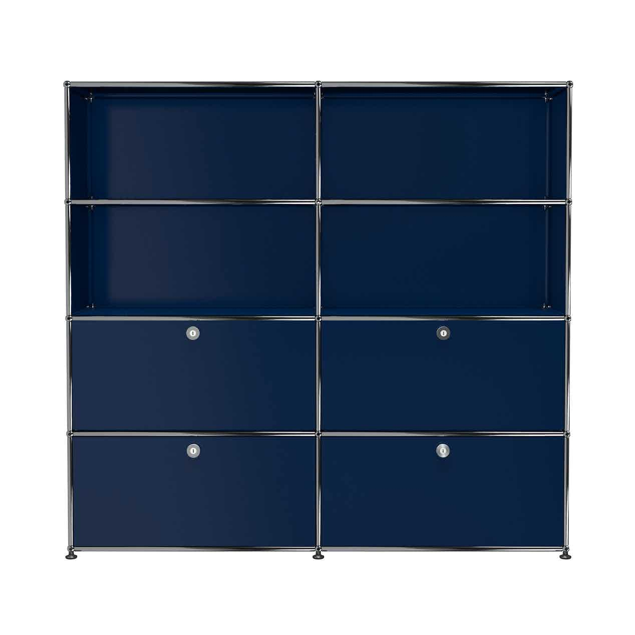 Usm-quick-ship-Haller-Storage-S2-steel-blue-haute-living