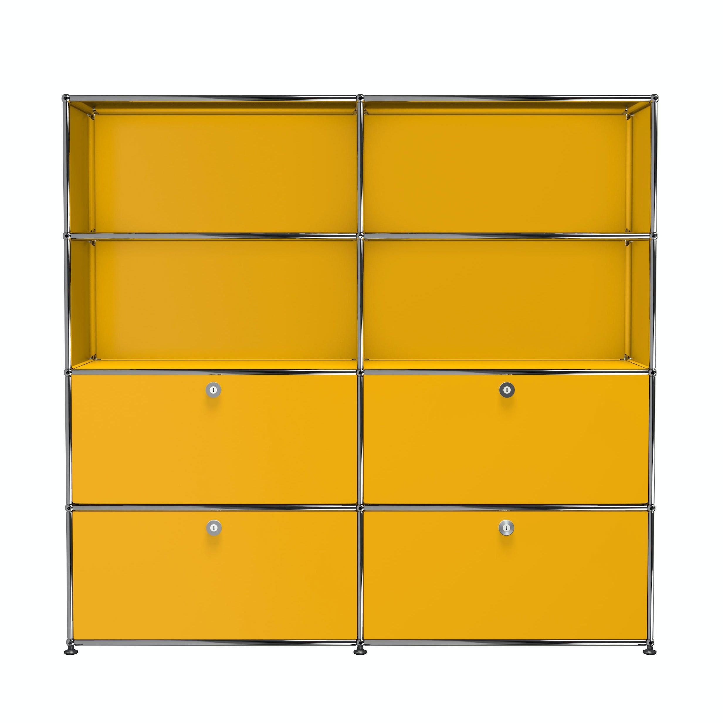 Usm-quick-ship-Haller-Storage-S2-yellow-haute-living