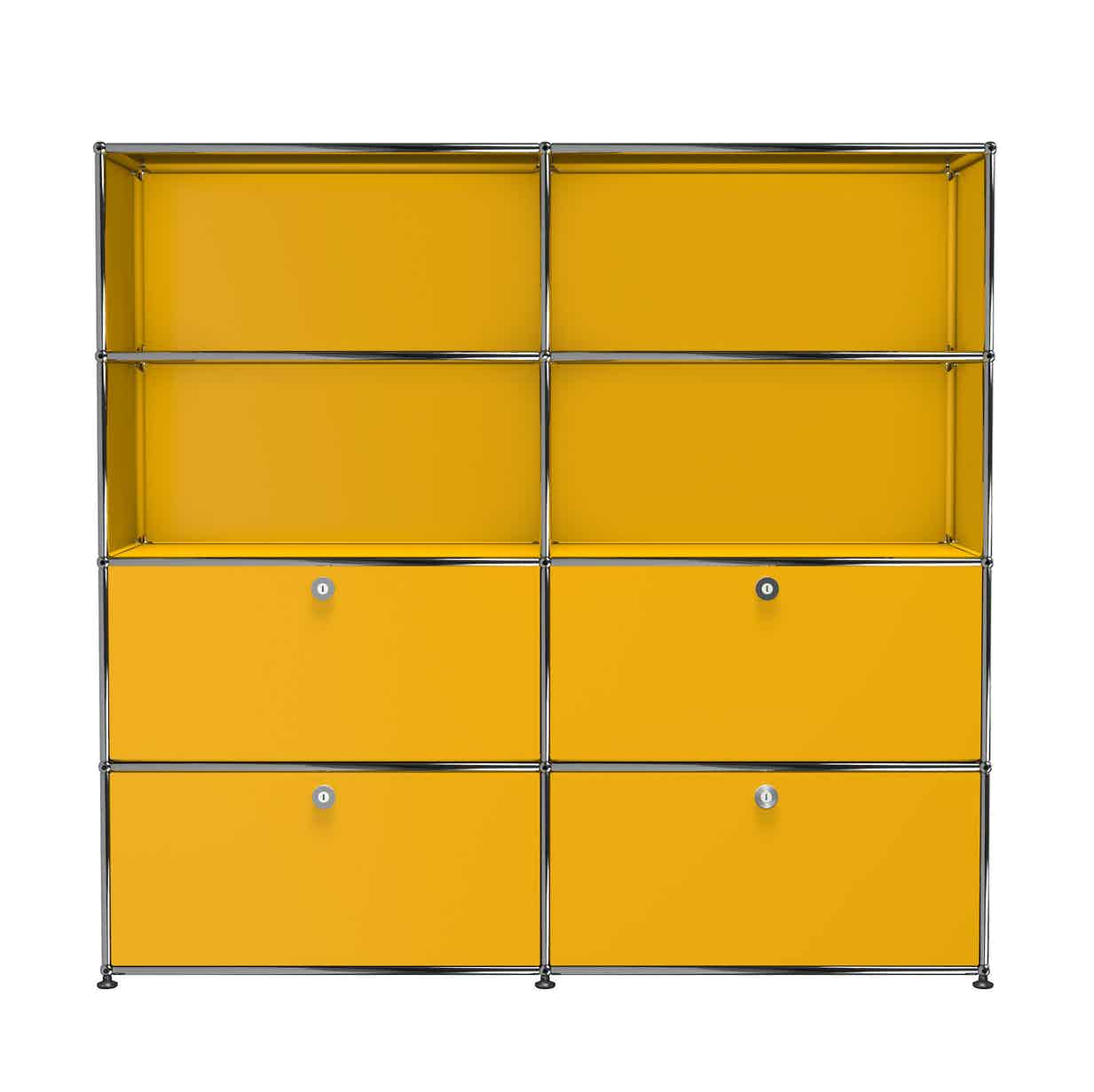 Usm-quick-ship-Haller-Storage-S2-yellow-haute-living