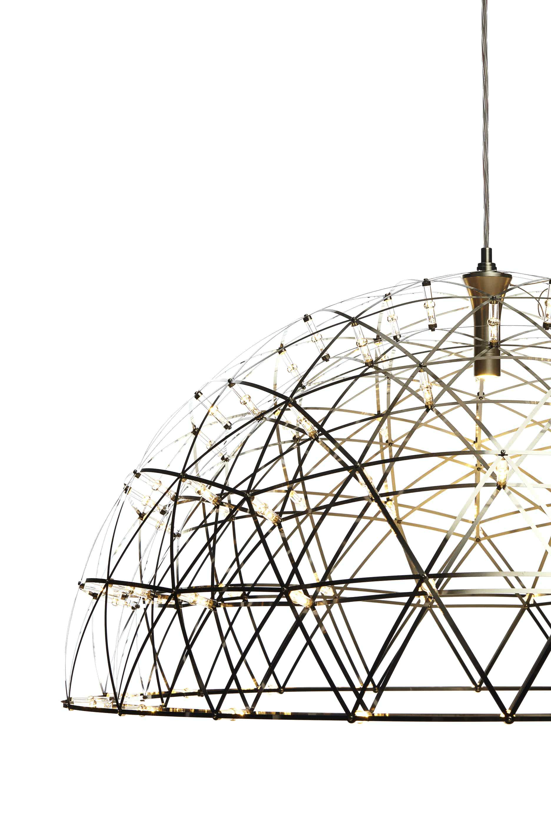 Moooi raimond dome 79 side detail haute living