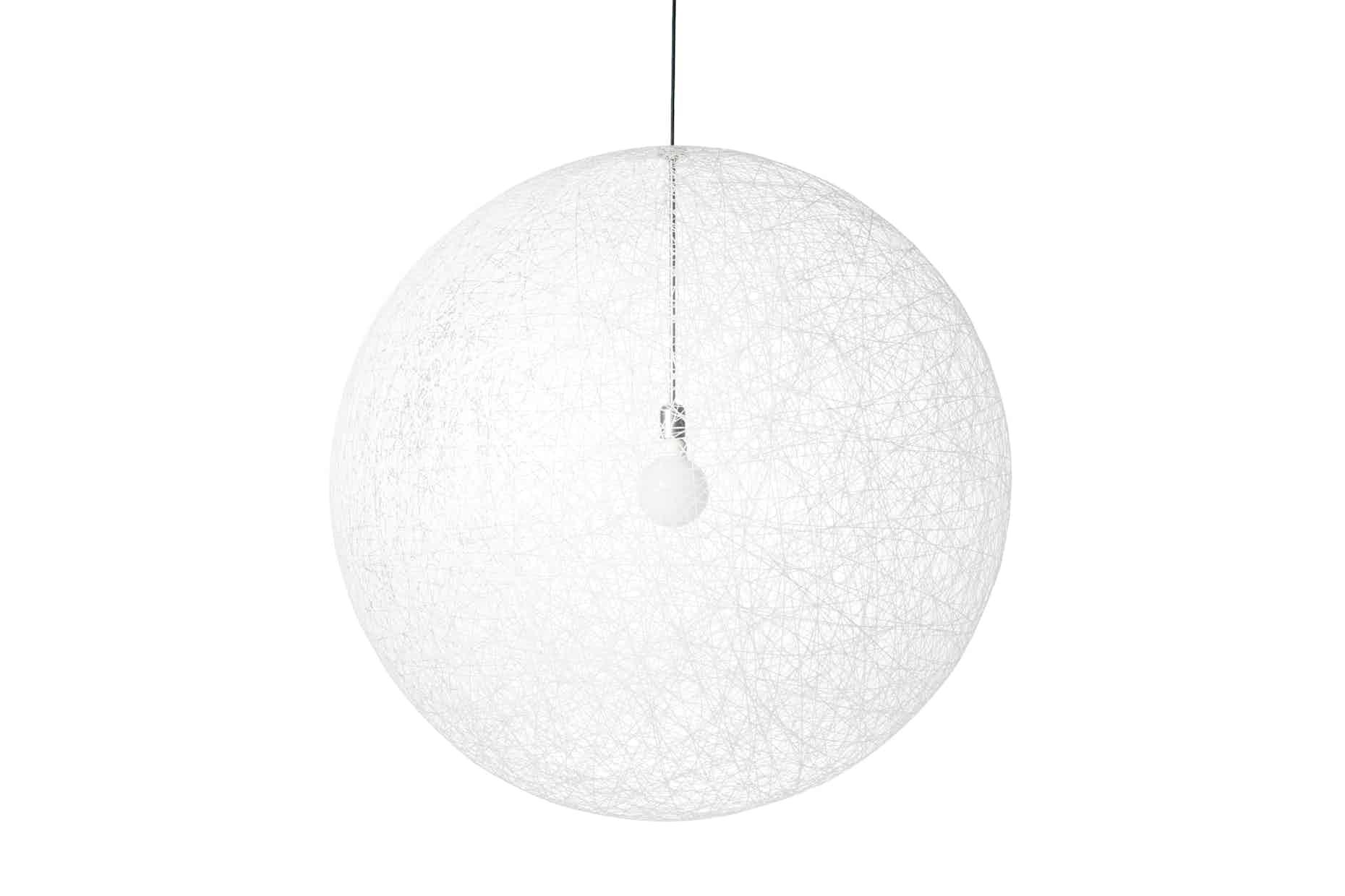 Moooi random light white unlit haute living