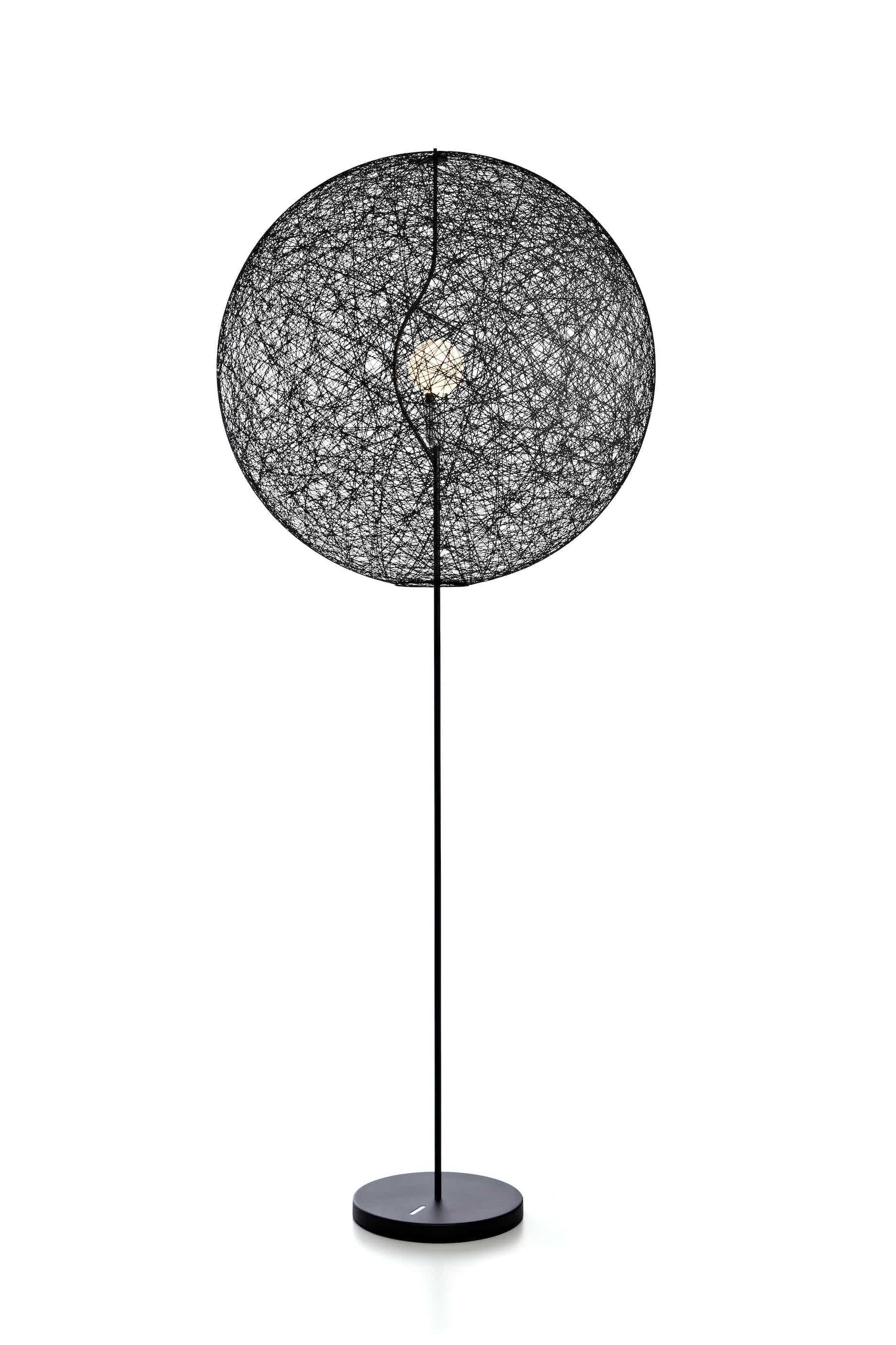 Moooi random light LED floor lamp black large haute living