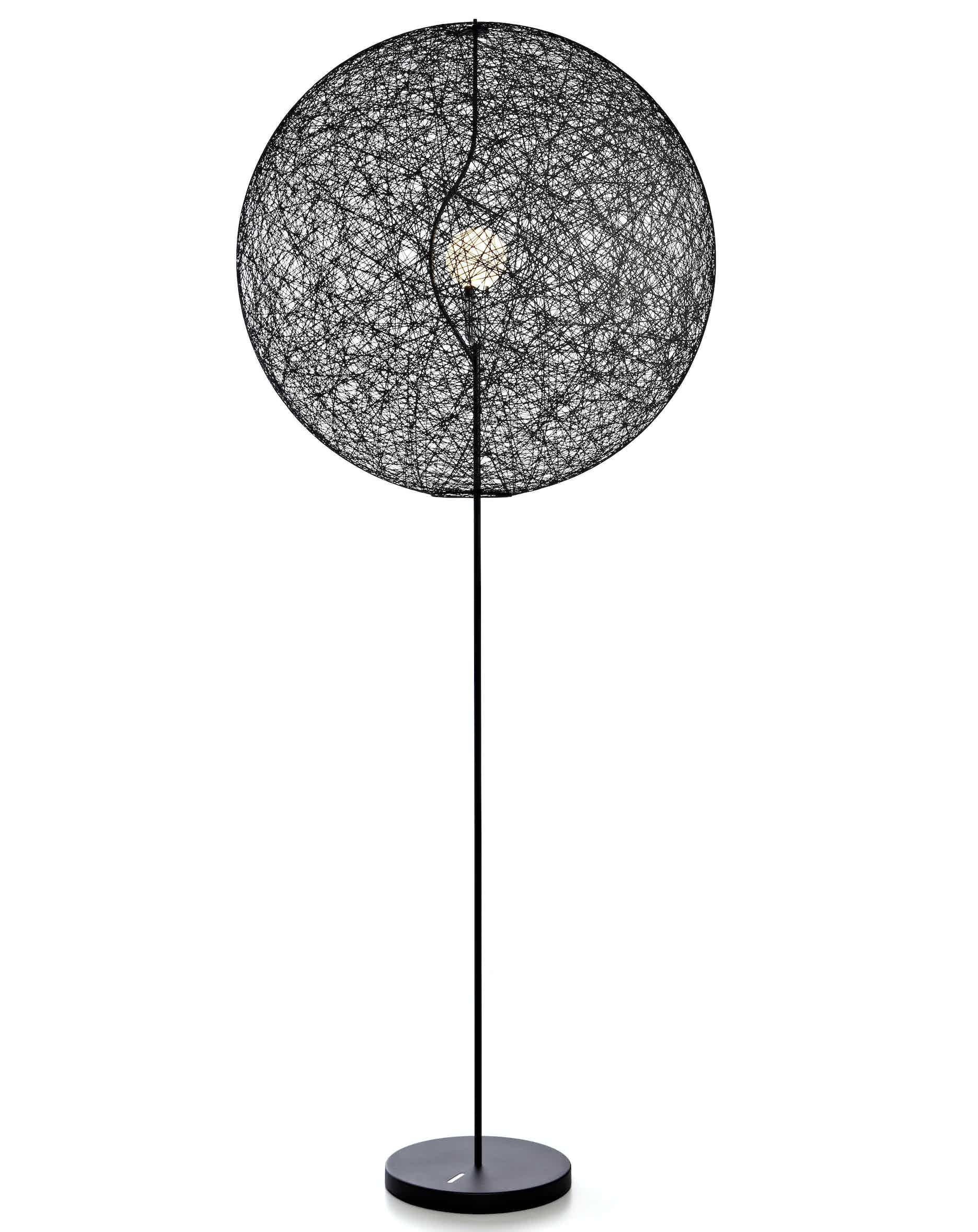 Moooi random light LED floor lamp black large haute living
