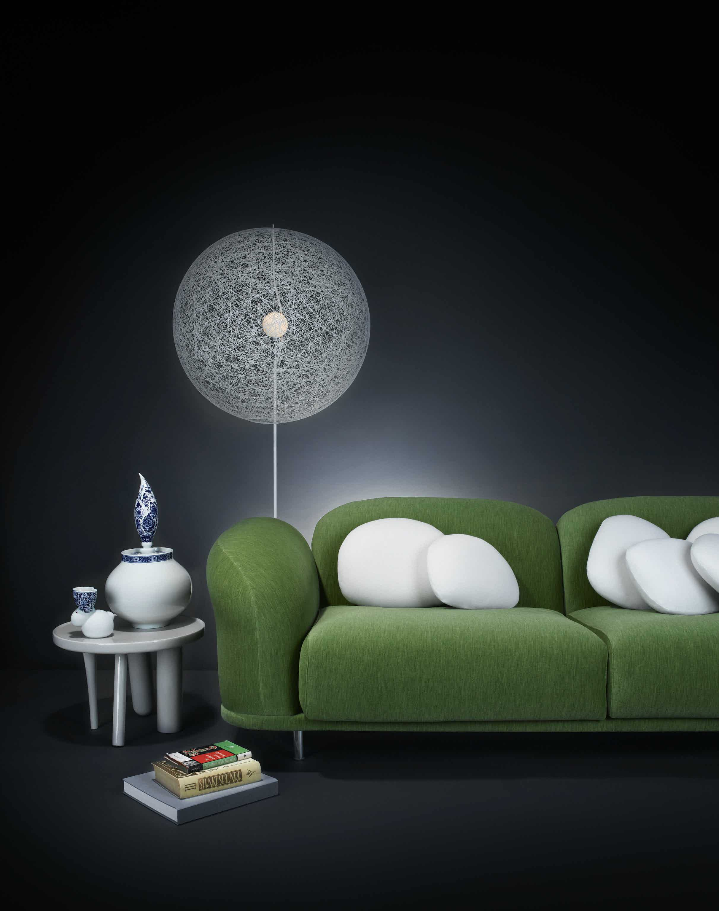 Moooi random light LED floor lamp white insitu haute living