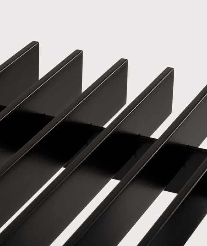 Matter made range life ii truss table slats haute living