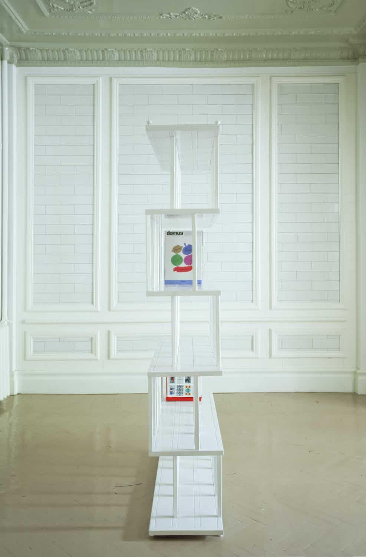 De La Espada Autoban Reedy Bookcase Insitu White Side Haute Living