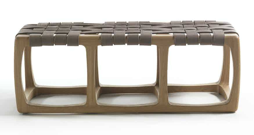 Riva 1920 bungalo bench front haute living
