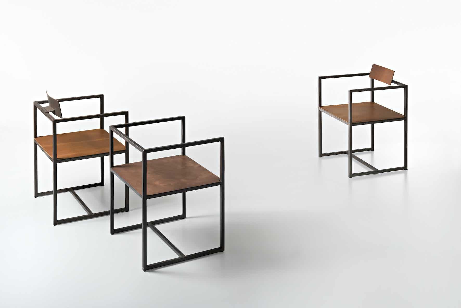 De Castelli Riveria Chair Side Trio Haute Living