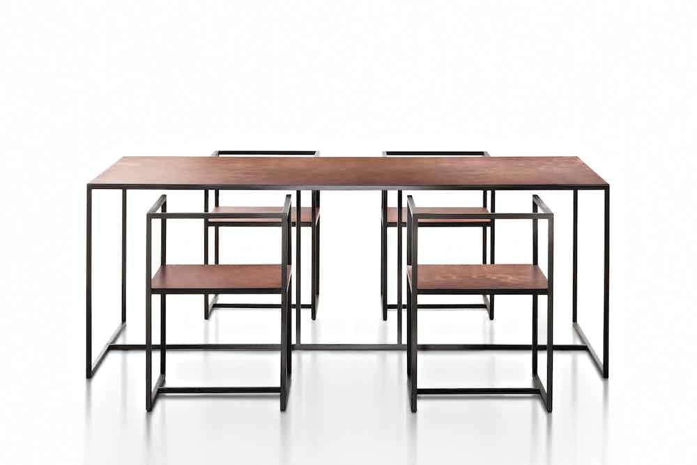 De Castelli Riveria Chair With Table Haute Living