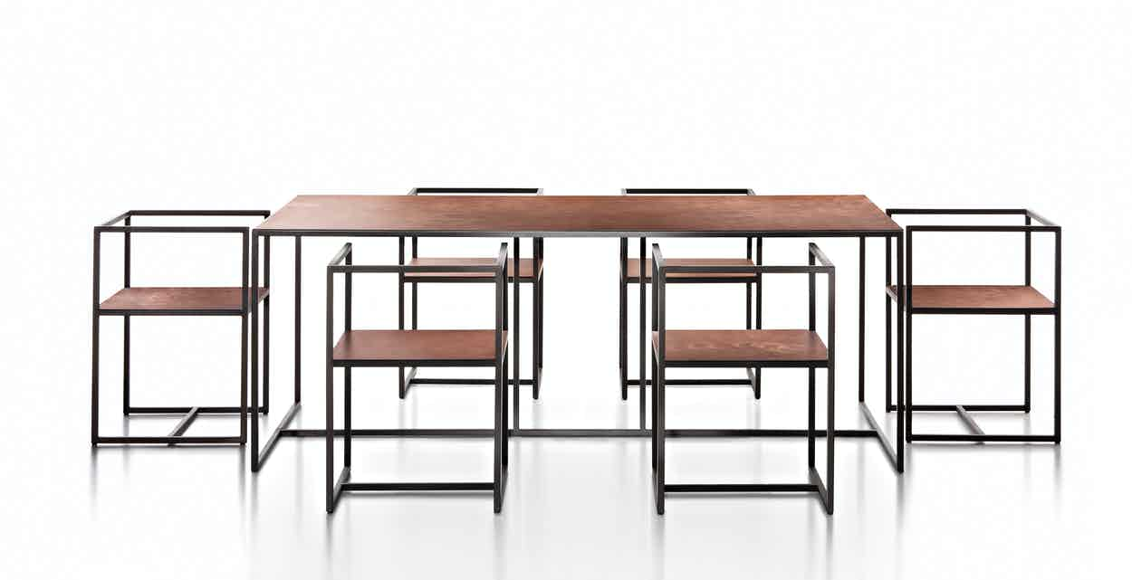 De Castelli Riveria Chair With Table2 Haute Living
