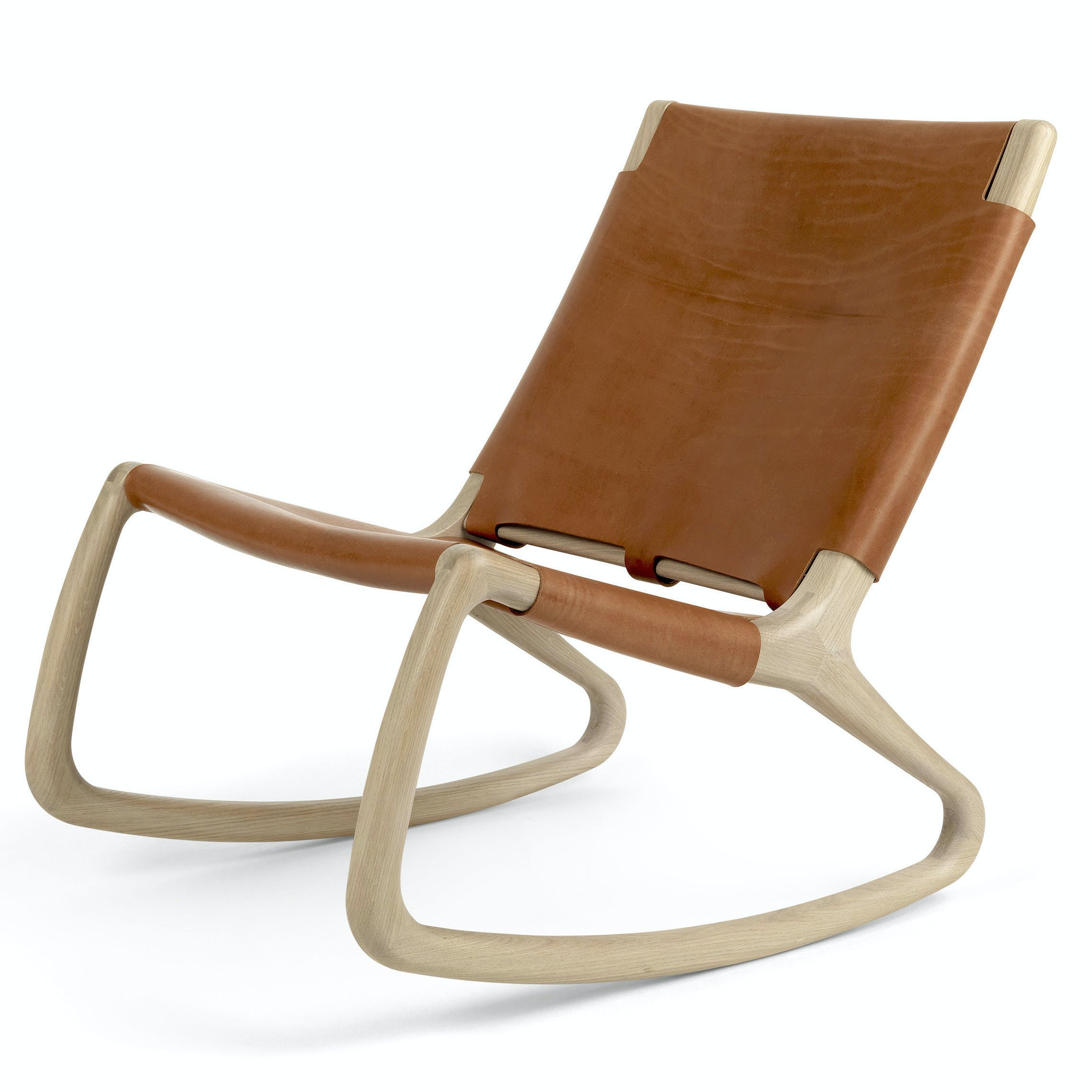 Mater Whiskey Rocker Chair Front Haute Living 181015 182157