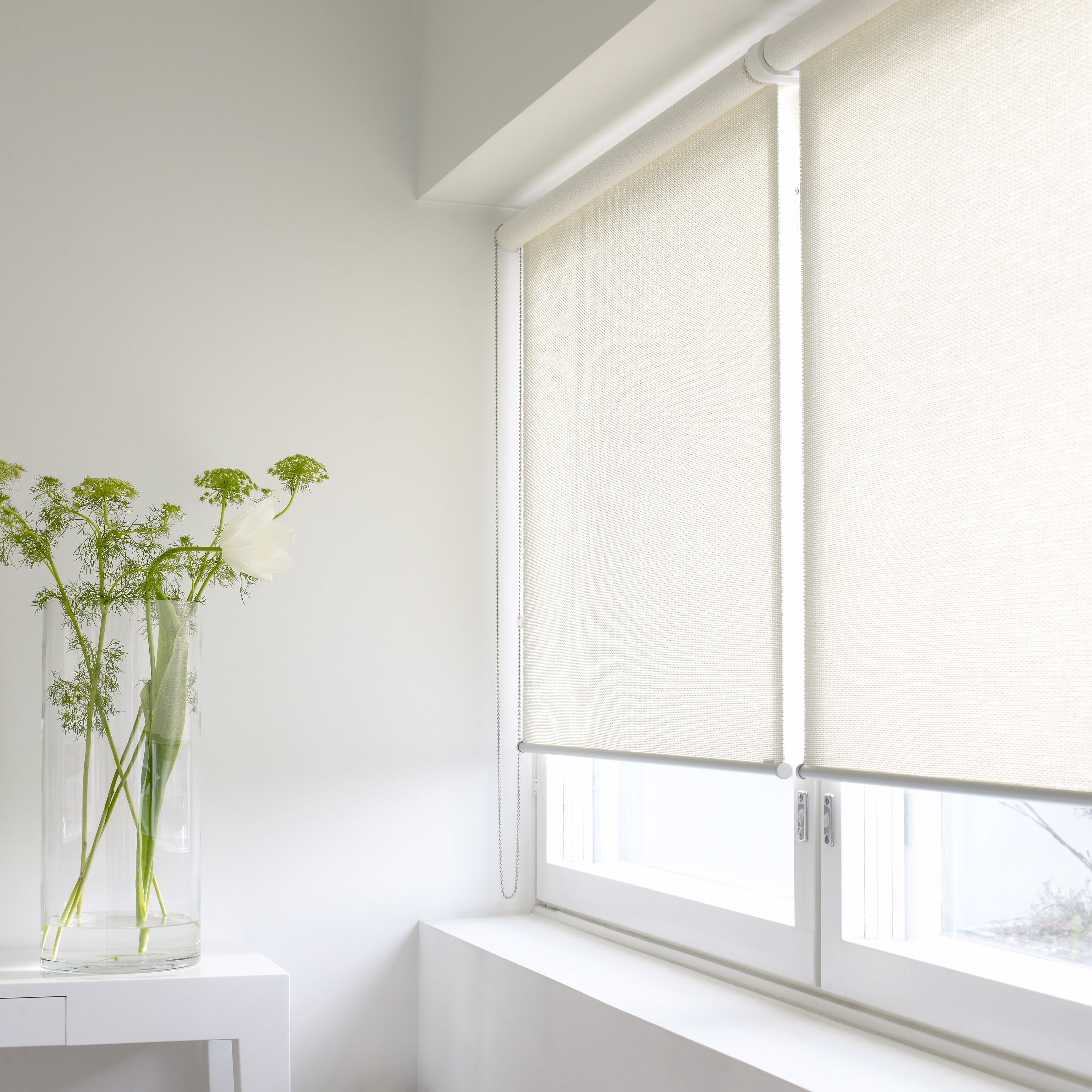Morning 21111 White Wn Roller Blind 13452
