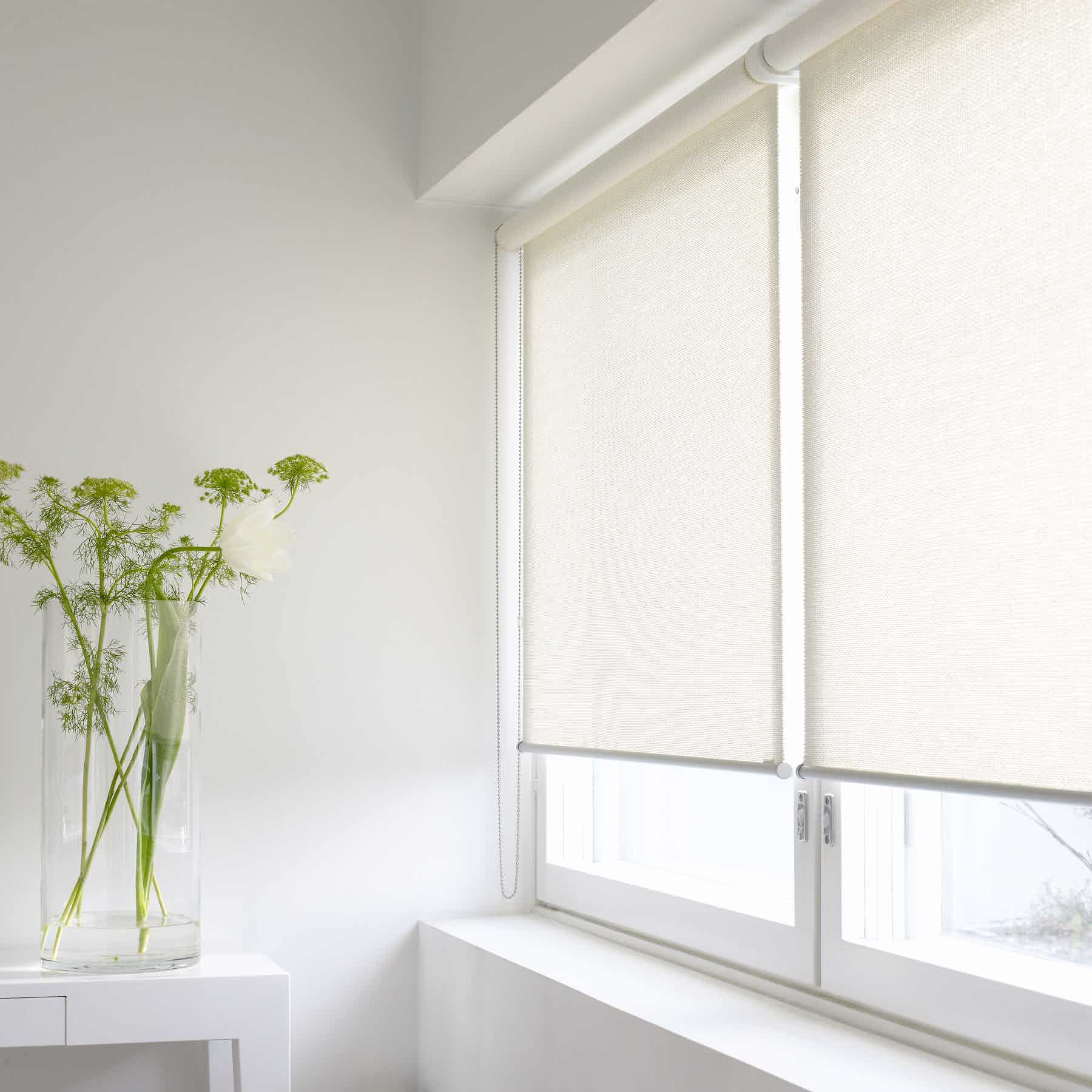 Morning 21111 White Wn Roller Blind 13452