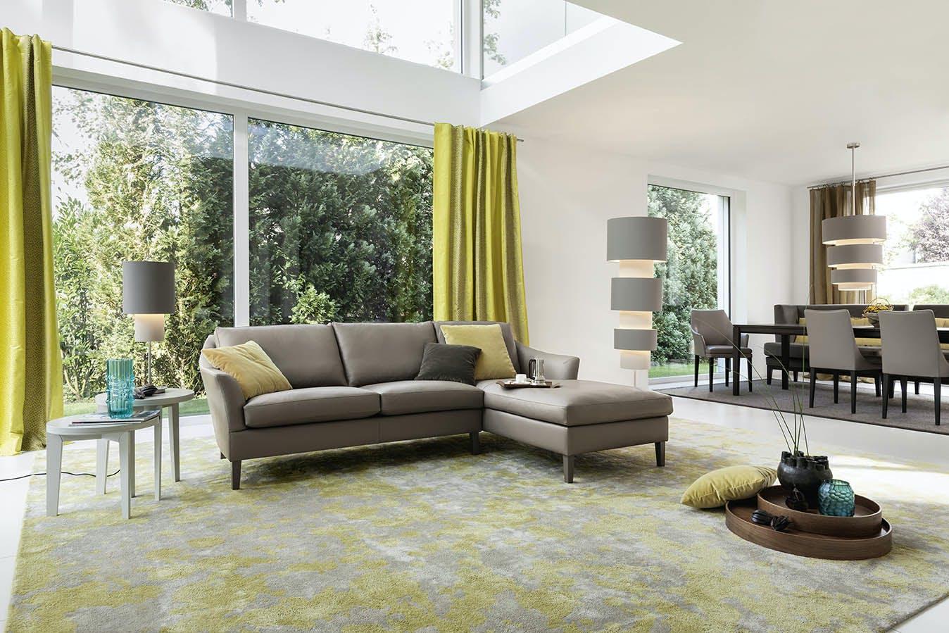 Jab Anstoetz Saloni Modular Sofa Insitu Angle Haute Living