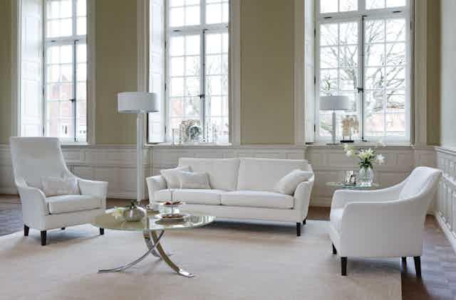 Jab Anstoetz Saloni White Sofa Haute Living
