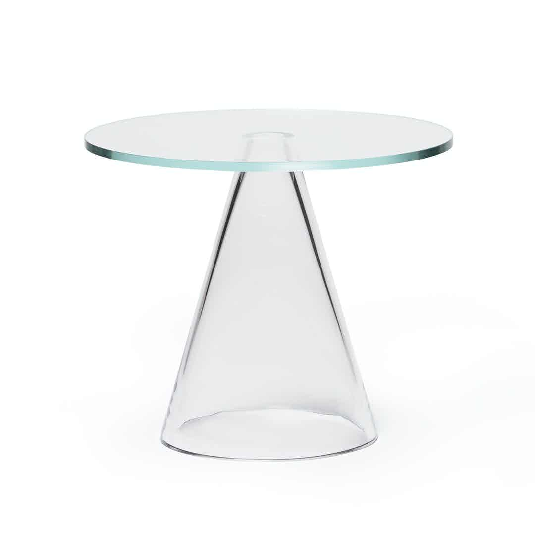 Massproductions Sander Table Clear Haute Living