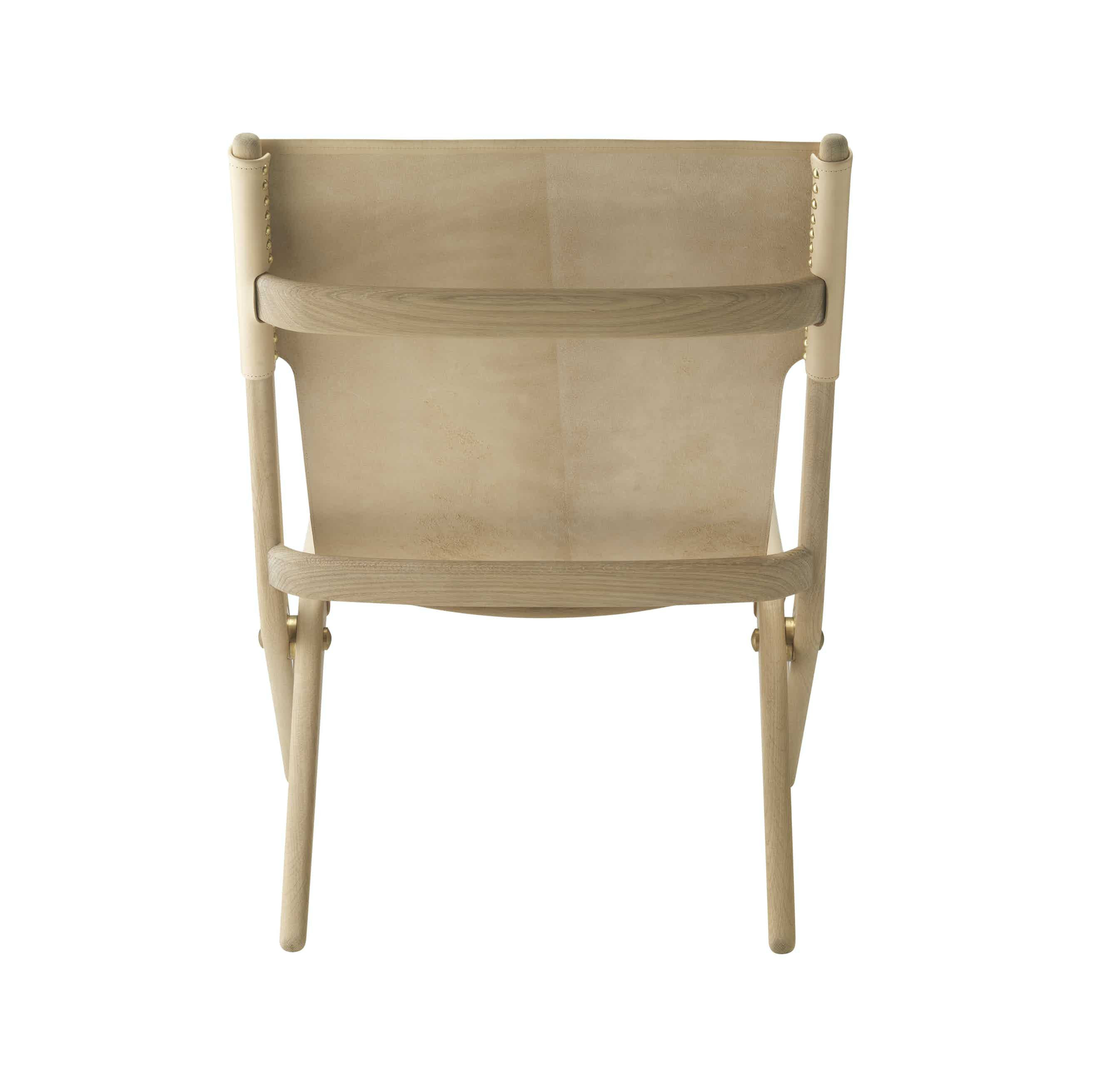 By lassen saxe chair natural back haute living