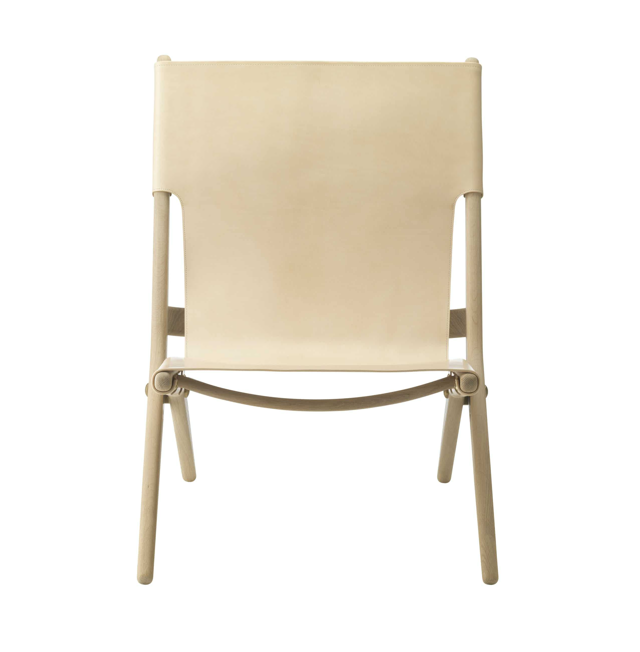 By lassen saxe chair natural front haute living