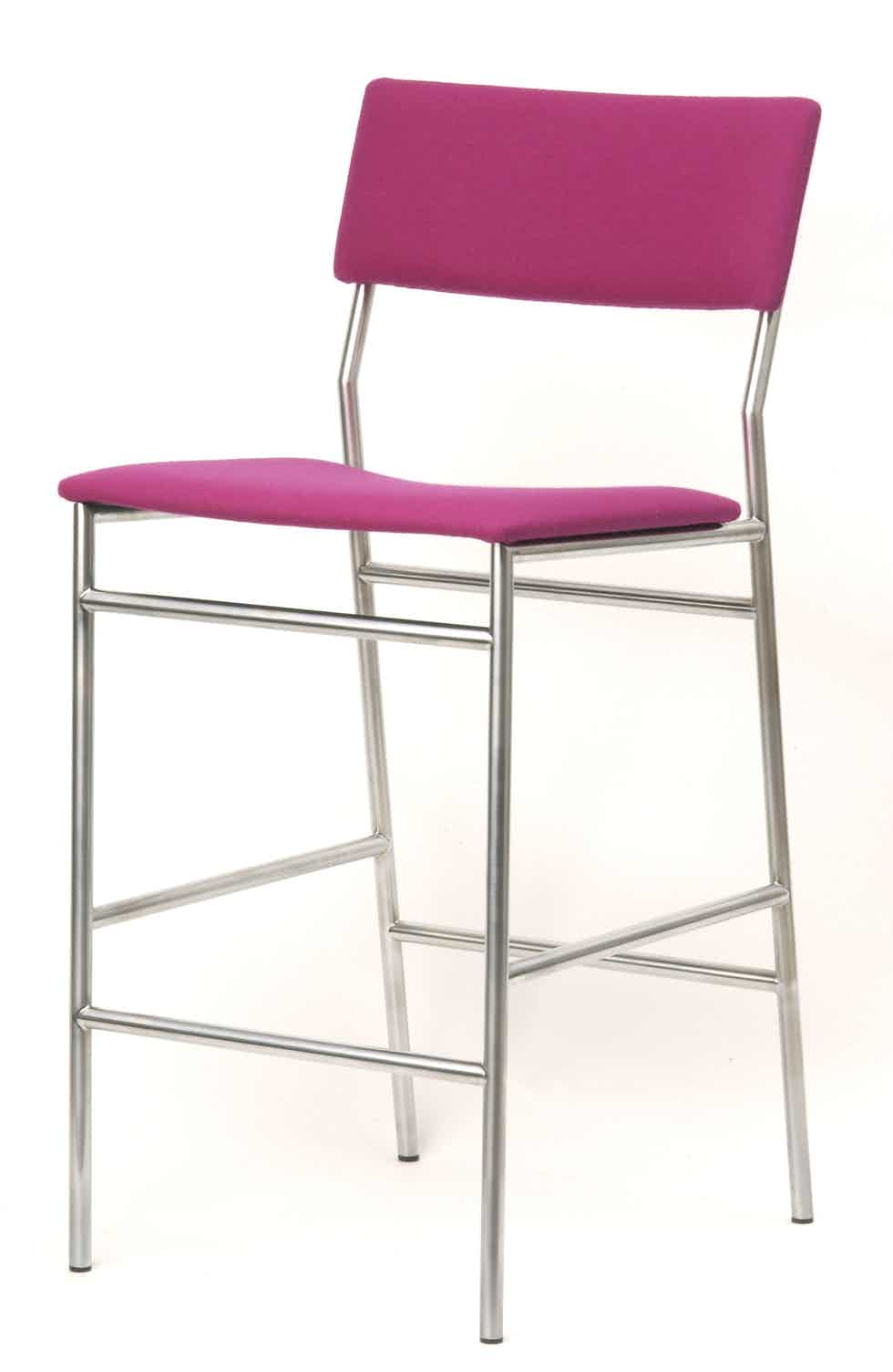 Spectrum Furniture 07 Xl Pink Sb Bar Stool