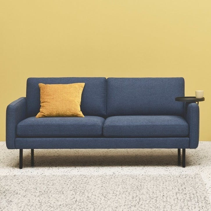 Bolia Blue Scandinavia Remix Sofa Haute Living