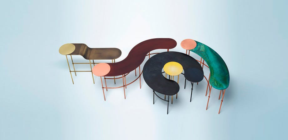 De Castelli Scribble Tables Haute Living