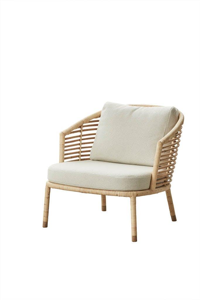 Sense Lounge Chair Natural White 1
