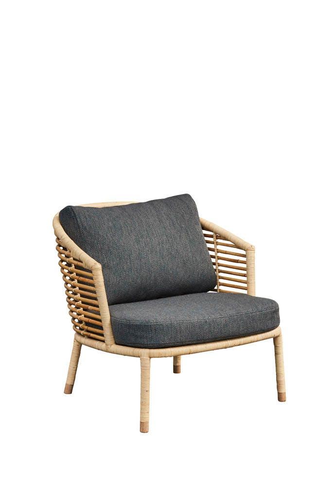 Sense Natur Lounge Chair Grey Y125