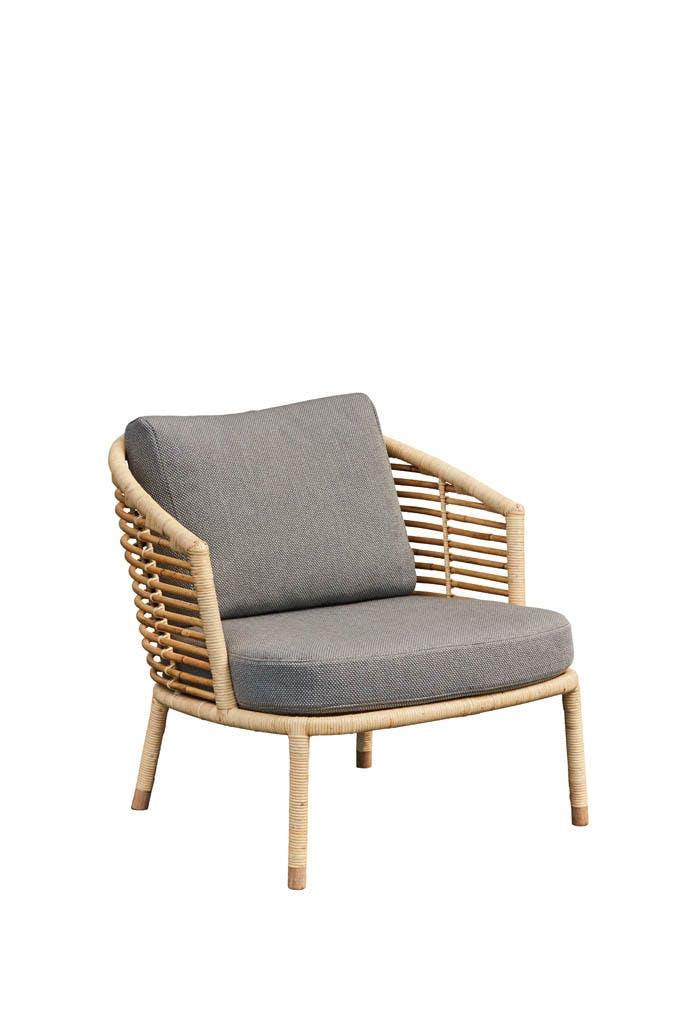 Sense Natur Lounge Chair Light Grey Y126 1
