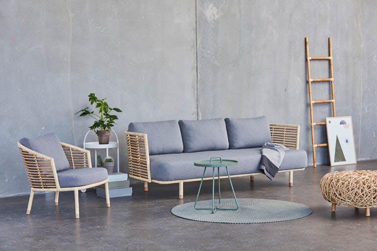 Sense Natur Sofa Lounge Light Grey Y126