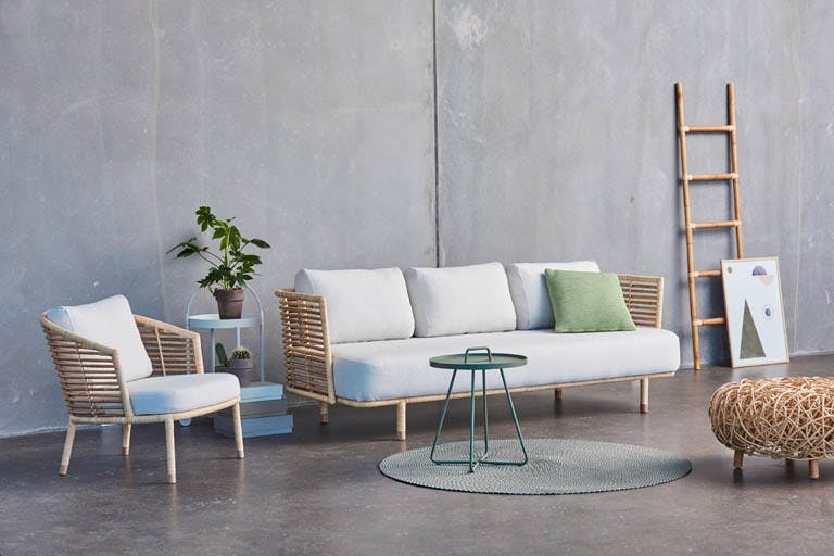 Sense Natur Sofa Lounge Off White Y124