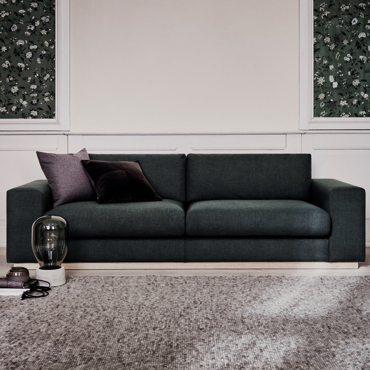 Bolia Dark Grey Sepia Sofa Insitu Haute Living