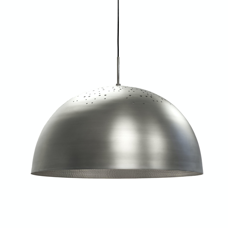 Mater Shade Lamp Aluminum Haute Living