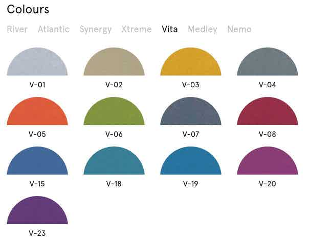Shape Seating Colors 5