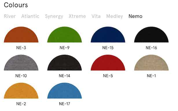 Shape Seating Colors 7