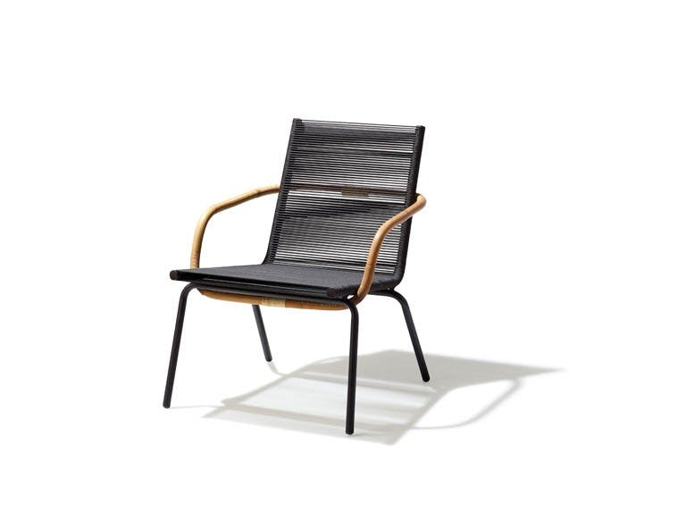 Sidd Lounge Chair Brown Frit