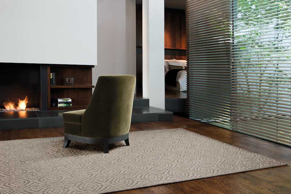 Limited Edition Rugs Silverado Rug Silver Taupe Insitu Haute Living