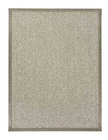 Limited Edition Rugs Silverado Rug Silver Taupe Top Haute Living