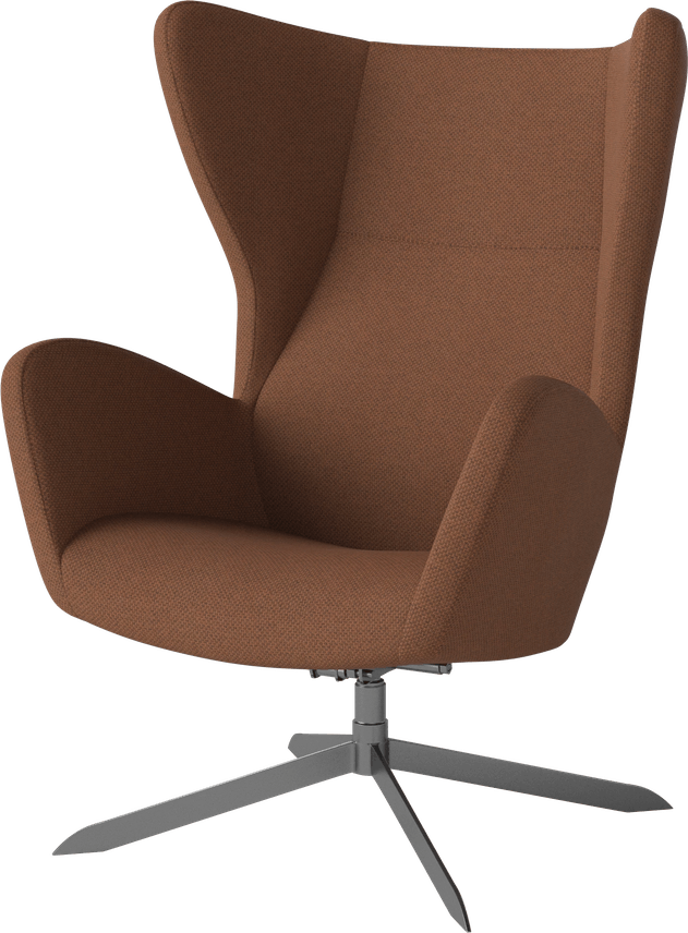 bolia orange sion armchair haute living